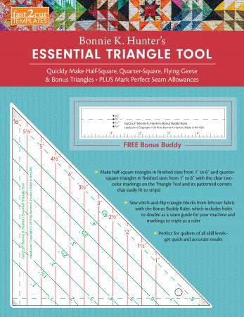 Fast2cut Bonnie K Hunter's Essential Triangle Tool