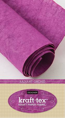 18.5 x 28.5 Kraft-tex Kraft Paper Fabric/Radiant Orchidp