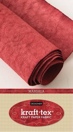 18.5 x 28.5 Kraft-tex Kraft Paper Fabric/Marsala