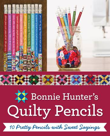 Bonnie K Hunter's Quilty Pencils