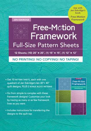 Free Motion Framework Full Size Pattern