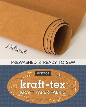 Kraft-tex Roll Natural Prewashed