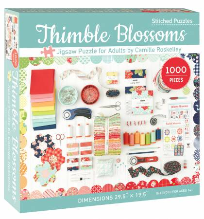 Thimble Blossoms Jigsaw Puzzle for Adult