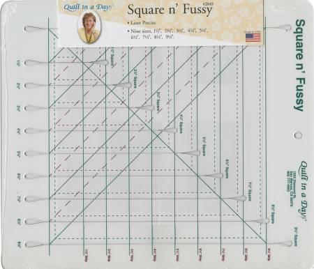Square n' Fussy Ruler