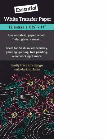 Essential White Transfer Paper - 12 - 9x12 sheets