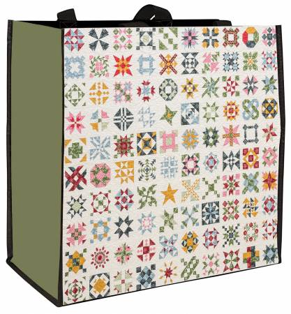 Harriet's Journey Eco Tote from Elm Creek Quilts - 15 x 15.5 x 6