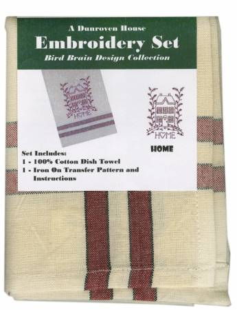 Towel Embroidery Set 1 Bird Brain Designs Home