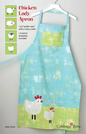 Chicken Lady Apron Pattern