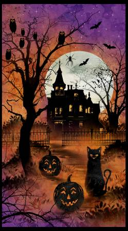 Frightful Night Halloween Panel