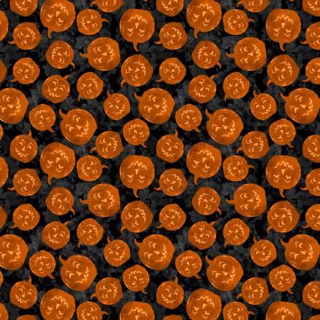 Black Halloween Pumpkin Toss