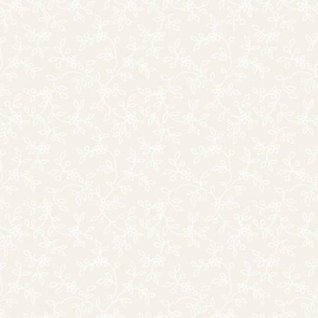 Soft White Lacy Vines