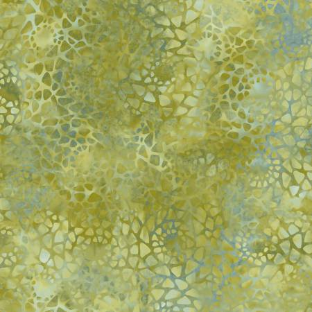 Olive Green Mosaic 108in Wide Back