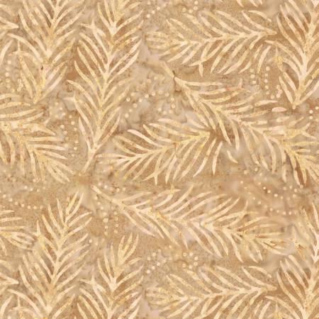Delicate Fronds 108in Wide Back - Dark Tan