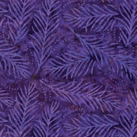 Purple Delicate Fronds 108 in Wide Back