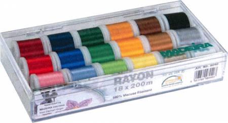 Madeira Rayon 18 Spool Box