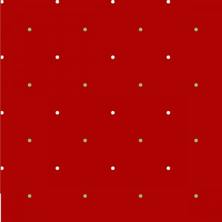 Ring In The Holly Days Red Large Dot 2098-88