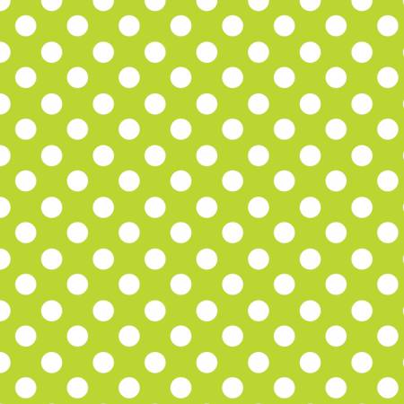 Fabric Camelot Lime Dots