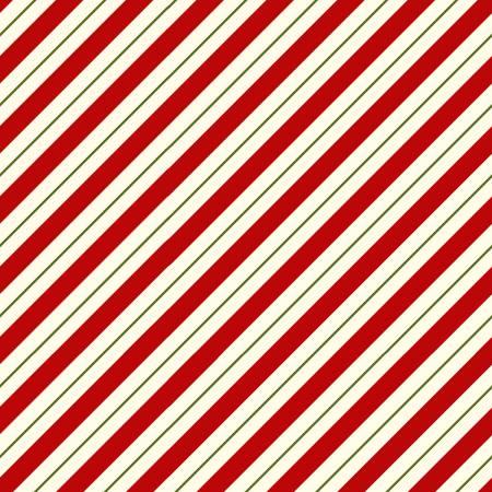 Candy Cane Stripe- Cream red white
