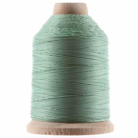 YLI Cotton Hand Quilting Mint Green Thread 3-ply T-40 1000yds