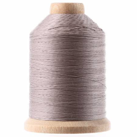 YLI Cotton Hand Quilting Grey Thread 3-ply T-40 1000yds