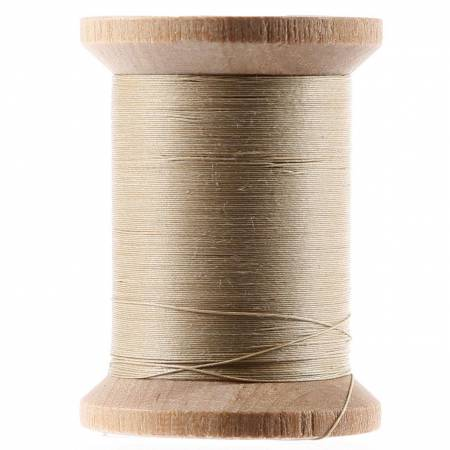 YLI Cotton Hand Quilting Thread 3-ply T-40 400yds Ecru