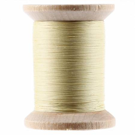 Cotton Hand Quilting Thread 3-ply T-40 400yds Yellow