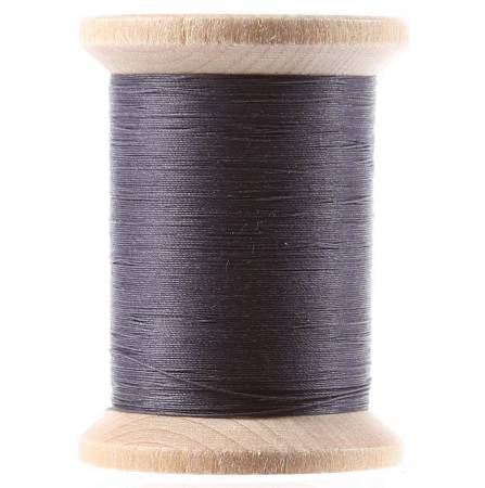 Cotton Hand Quilting Thread 3-ply T-40 400yds Black