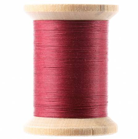 Cotton Hand Quilting Thread 3-ply T-40 400yds Red