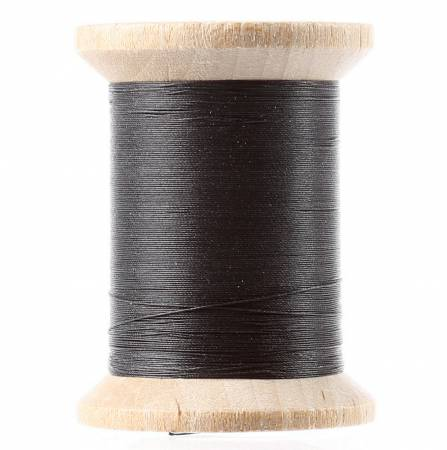 YLI Cotton Hand Quilting Thread 3-ply 400 yds 211-04-Black