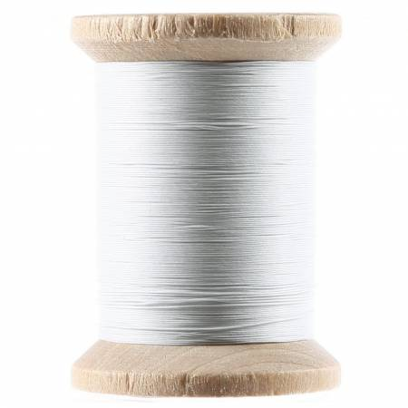 Cotton Hand Quilting Thread 3-ply T-40 400yds White