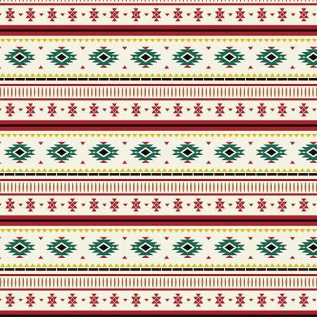 Cream Blanket Stripe