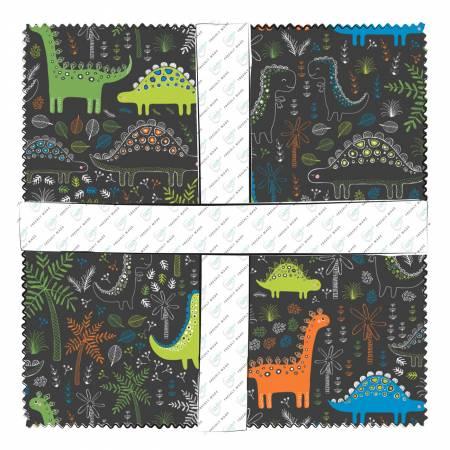 c931a213749d 10in Squares Roarsome 42pcs/bundle