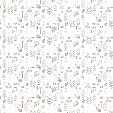 White Field of Flowers