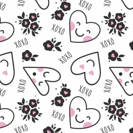XOXO Personified Hearts Pink