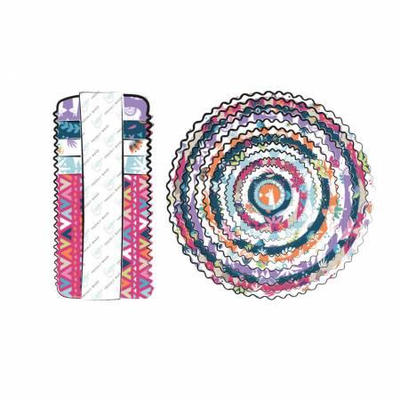 2-1/2in Strips Llama Drams, 40pcs/bundle