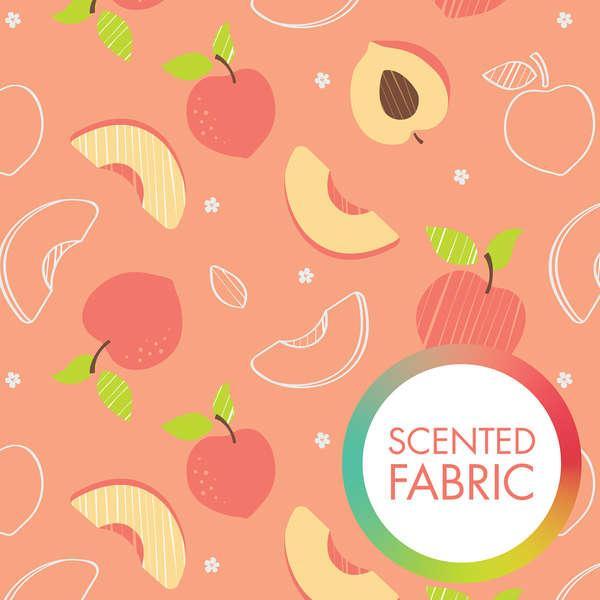 Peachy Peach Scented Fabric