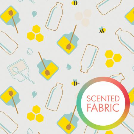 Milk & Honey Scented Fabric Design