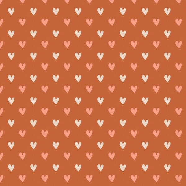 Wilderness Hearts Orange 2144004