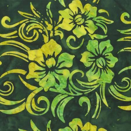 Poker Night Green Batik: 2144Q-X by Anthology
