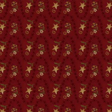 Red Wavy Stripe 2146-88