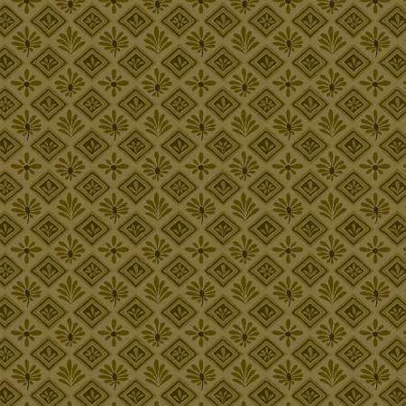Itty Bitty Olive Geometric 2148-66