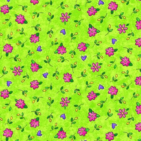 Green Floral Allover SALE