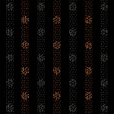Black Textured Dots 2150-99