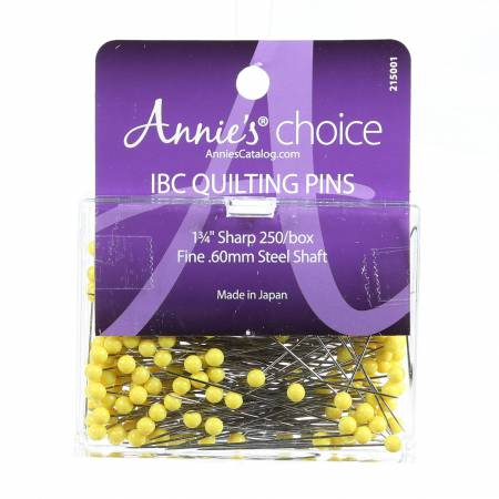 IBC Quilting Pin Size 28 - 1 3/4in 250ct