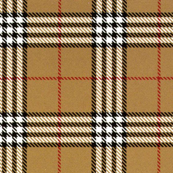 Burberry, Tan Plaid Flannel