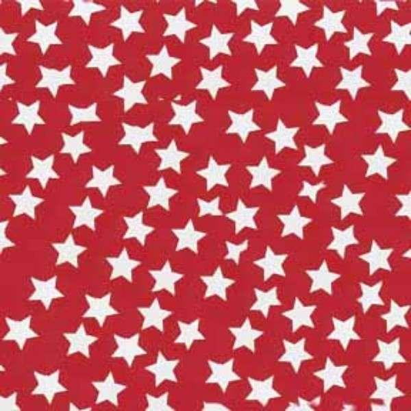 Red Stars Flannel