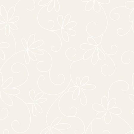 Soft White Loopy Daisy - mas215m-SW