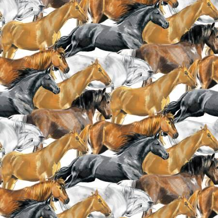 White Horses Fleece