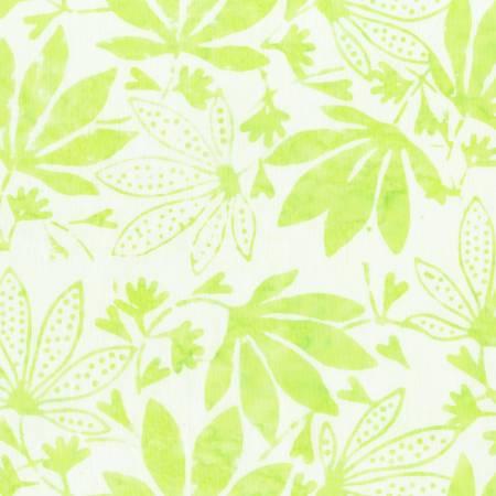 AF Maple Leaves Mint Batik