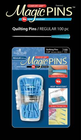 Magic Pins Quilting -Regular 1 3/4 - 100pc